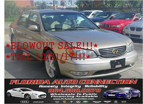 2003 Infiniti I35 for sale in Hollywood, FL