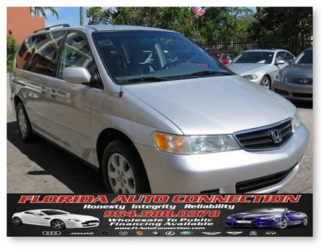 2004 Honda Odyssey for sale at FLORIDA AUTO CONNECTION in Hollywood FL
