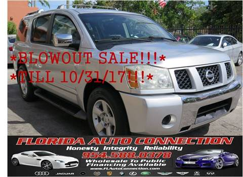 2004 Nissan Armada for sale in Hollywood, FL
