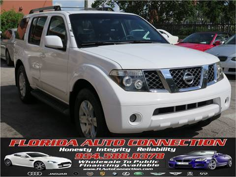 2005 Nissan Pathfinder for sale in Hollywood, FL