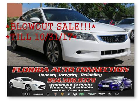 2008 Honda Accord for sale in Hollywood, FL