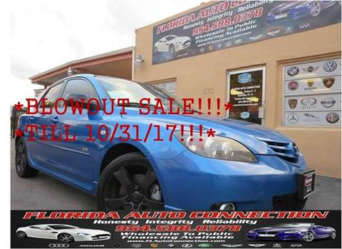 2005 Mazda MAZDA3 for sale in Hollywood, FL