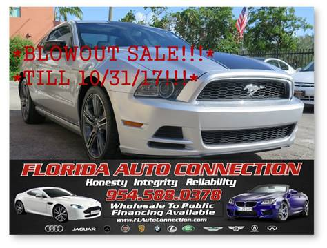 2013 Ford Mustang for sale in Hollywood, FL