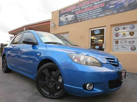 2005 Mazda MAZDA3 for sale at FLORIDA AUTO CONNECTION in Hollywood FL