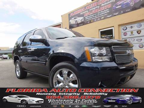 2008 Chevrolet Tahoe for sale in Hollywood, FL