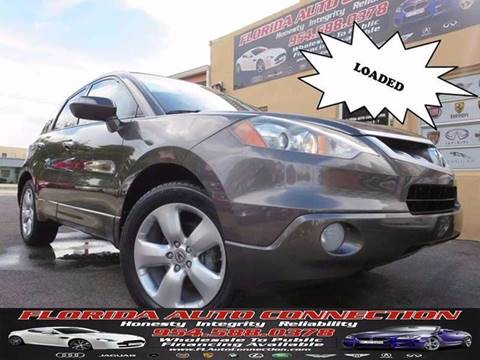 2009 Acura RDX for sale in Hollywood, FL