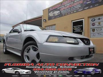 2001 Ford Mustang for sale in Hollywood, FL