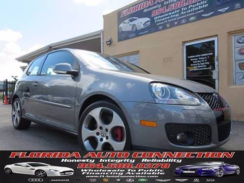 2007 Volkswagen GTI for sale at FLORIDA AUTO CONNECTION in Hollywood FL
