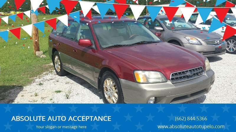 2003 Subaru Outback Awd Ll Bean Edition 4dr Wagon In Tupelo Ms
