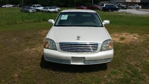 2002 Cadillac DeVille for sale in Tupelo, MS