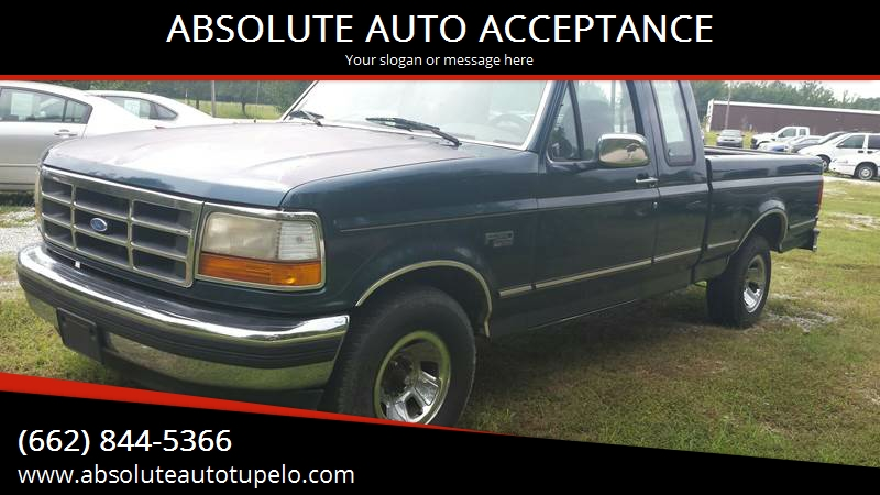 ABSOLUTE AUTO ACCEPTANCE - Used Cars - Tupelo MS Dealer