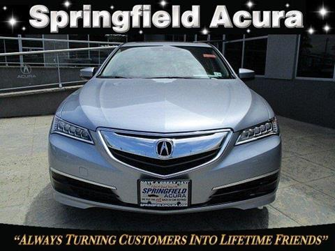 2016 Acura TLX for sale in Springfield, NJ