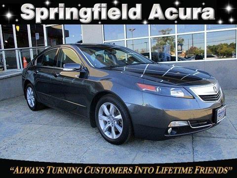 2013 Acura TL for sale in Springfield, NJ