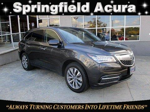 2015 Acura MDX for sale in Springfield, NJ