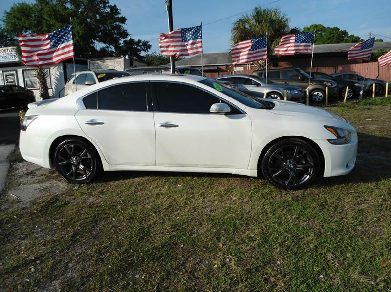 2014 nissan maxima 35 sv 4dr sedan in orlando fl the car outlet inc vehicle options voltagebd