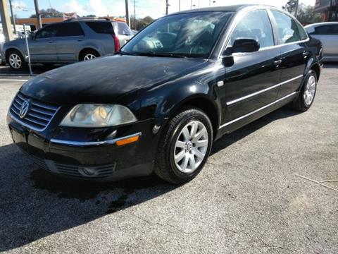 2003 Volkswagen Passat for sale at JacksonvilleMotorMall.com in Jacksonville FL