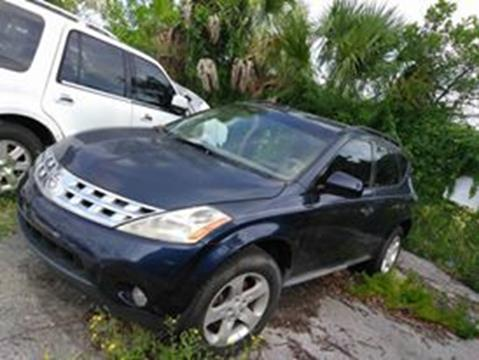 2003 Nissan Murano for sale at JacksonvilleMotorMall.com in Jacksonville FL