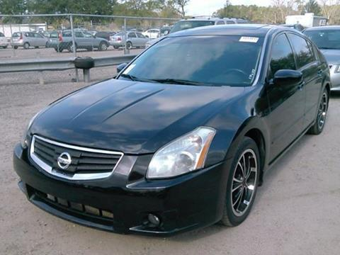 2007 Nissan Maxima for sale at JacksonvilleMotorMall.com in Jacksonville FL