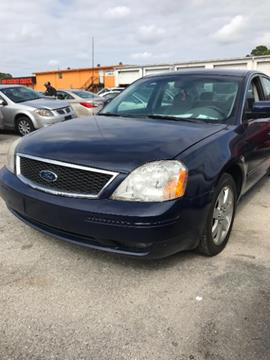 2005 Ford Five Hundred for sale at JacksonvilleMotorMall.com in Jacksonville FL