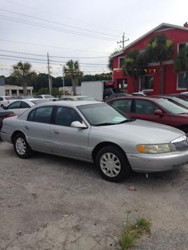 2000 Lincoln Continental for sale at JacksonvilleMotorMall.com in Jacksonville FL