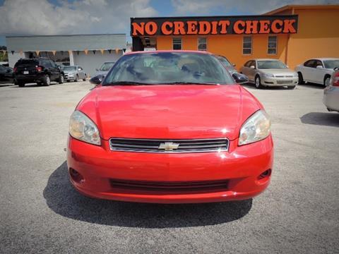 2006 Chevrolet Monte Carlo for sale at JacksonvilleMotorMall.com in Jacksonville FL