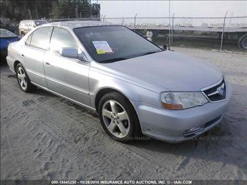 2002 Acura TL for sale at JacksonvilleMotorMall.com in Jacksonville FL