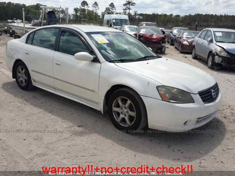 2005 Nissan Altima for sale at JacksonvilleMotorMall.com in Jacksonville FL