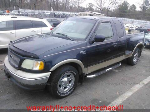 2000 Ford F-150 for sale at JacksonvilleMotorMall.com in Jacksonville FL