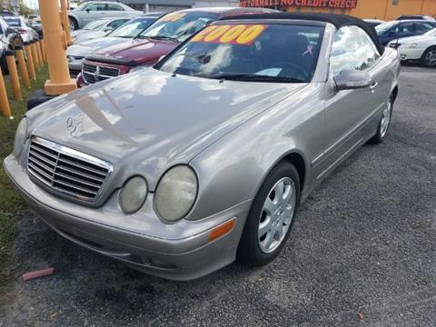 2003 Mercedes-Benz CLK for sale in Jacksonville, FL