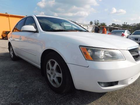 2006 Hyundai Sonata for sale at JacksonvilleMotorMall.com in Jacksonville FL