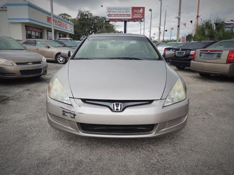 2003 Honda Accord for sale at JacksonvilleMotorMall.com in Jacksonville FL