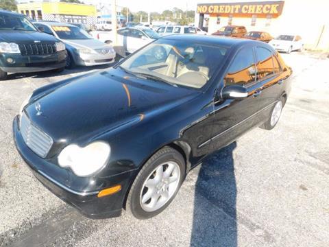 2002 Mercedes-Benz C-Class for sale at JacksonvilleMotorMall.com in Jacksonville FL