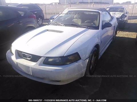 2001 Ford Mustang for sale at JacksonvilleMotorMall.com in Jacksonville FL