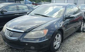 2008 Acura RL for sale at JacksonvilleMotorMall.com in Jacksonville FL