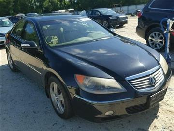 2005 Acura RL for sale at JacksonvilleMotorMall.com in Jacksonville FL