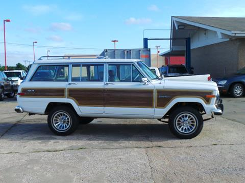 1989 Jeep Grand Wagoneer for sale in Broken Arrow, OK