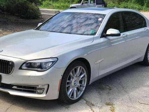 2013 BMW 7 Series 760Li for sale at AMK Auto Brokers in Derry NH