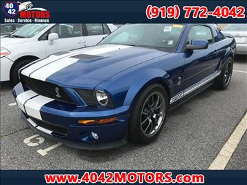 2007 Ford Shelby GT500 for sale in Garner, NC