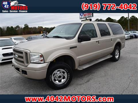 Ford excursion for sale in north carolina for 4042 motors garner nc