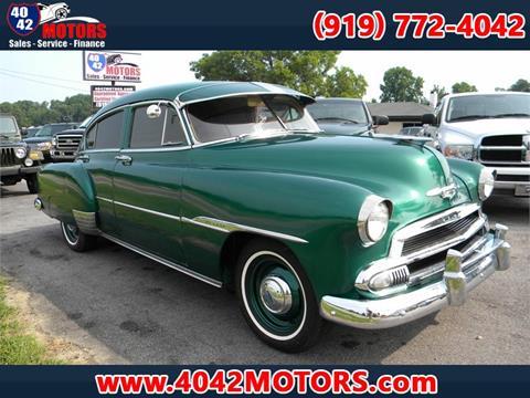 1951 Chevrolet Fleetline For Sale In Garner NC