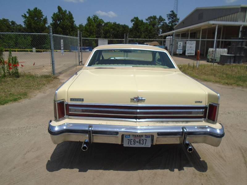 1976 Lincoln Continental Town Coupe In Quitman Tx Affordable Autos