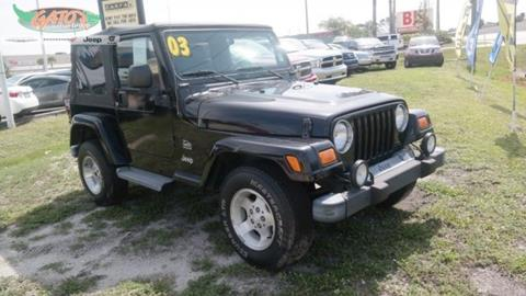 2003 Jeep Wrangler for sale in Melbourne, FL