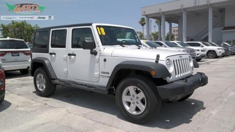 2018 Jeep Wrangler Unlimited for sale in Melbourne, FL