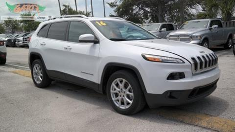 2016 Jeep Cherokee for sale in Melbourne, FL