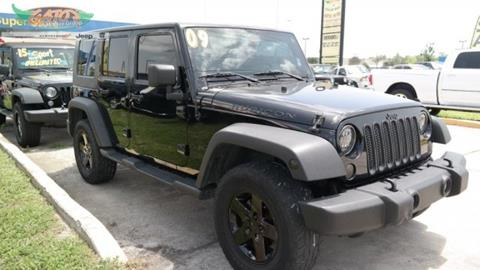 2009 Jeep Wrangler Unlimited for sale in Melbourne, FL