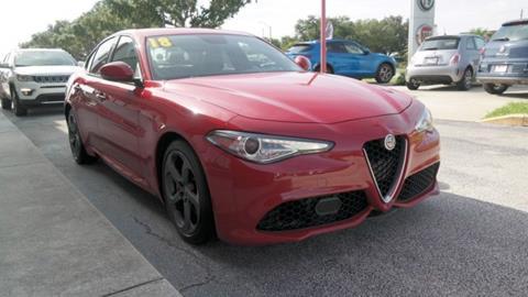 2018 Alfa Romeo Giulia for sale in Melbourne, FL