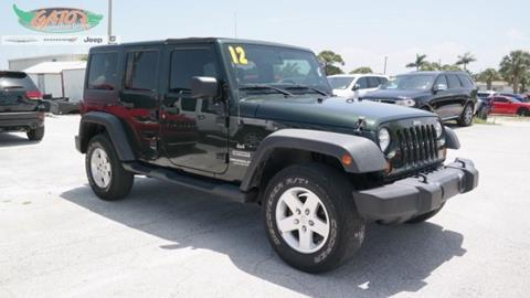 2012 Jeep Wrangler Unlimited for sale in Melbourne, FL