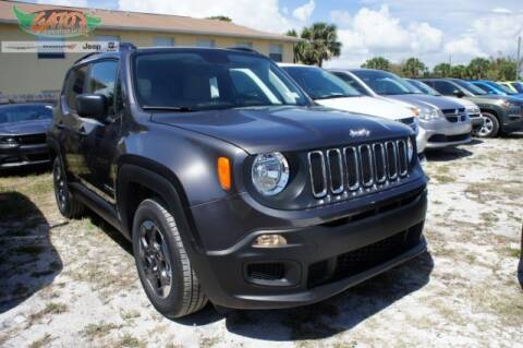 2018 Jeep Renegade Sport for sale at GATOR'S IMPORT SUPERSTORE in Melbourne FL