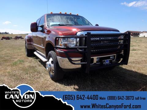 2007 Ford F-350 Super Duty for sale in Spearfish, SD