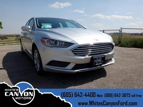2017 Ford Fusion Hybrid for sale in Spearfish, SD
